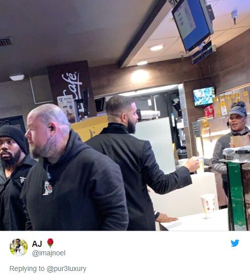Drake gave two McDonald