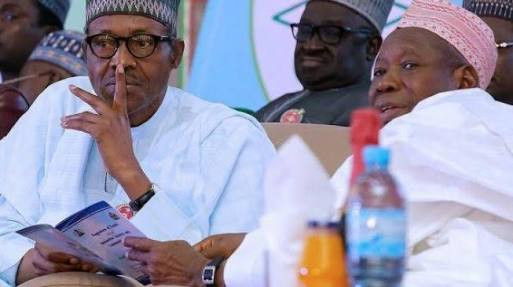 My association with Ganduje does not diminish my war against corruption- Buhari tells Nigerians