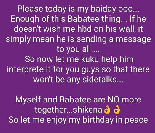 Three years after, Nollywood actor Baba Tee