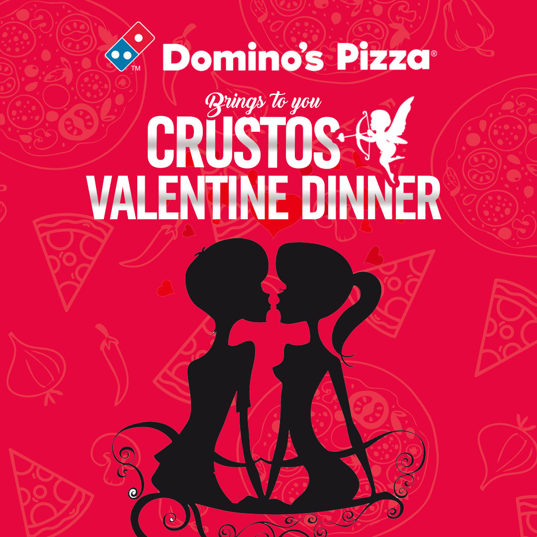 Domino?s Eros Of Pizza And God Of Love & Food Is Matching Couples This Valentine! Meet Crustos