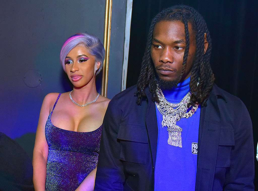 Cardi B and estranged husband Offset reunite at Super Bowl Party (Photos)
