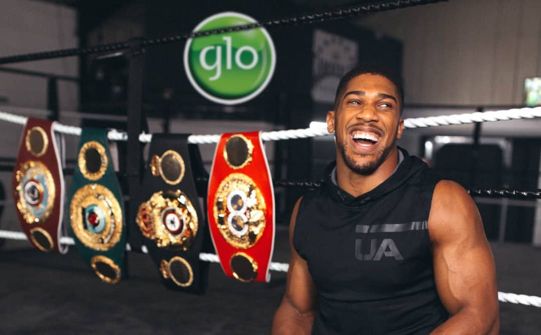 Anthony Joshua becomes Glo Ambassador, stars in brand new commercial