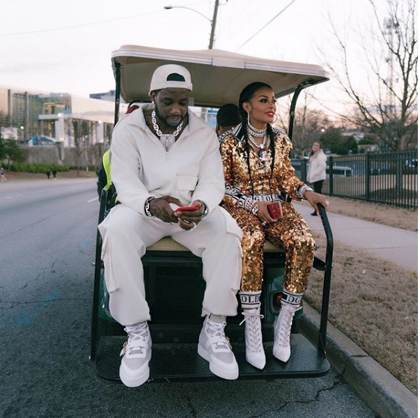 Flamboyant couple Gucci Mane and wife Keyshia Ka
