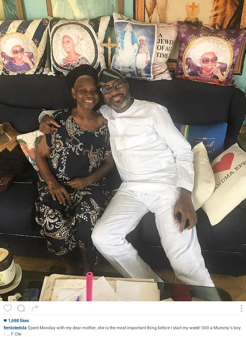 Billionaire businessman Femi Otedola admits he