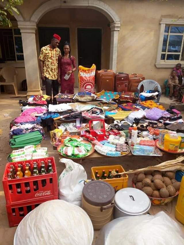 Photos: See the large number of items a Nigerian man was made to ...