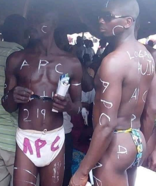 See photo of these APC supporters that has got everyone talking