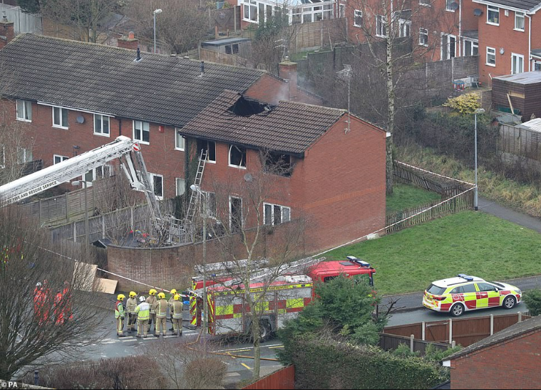 First picture of children killed in Stafford house fire