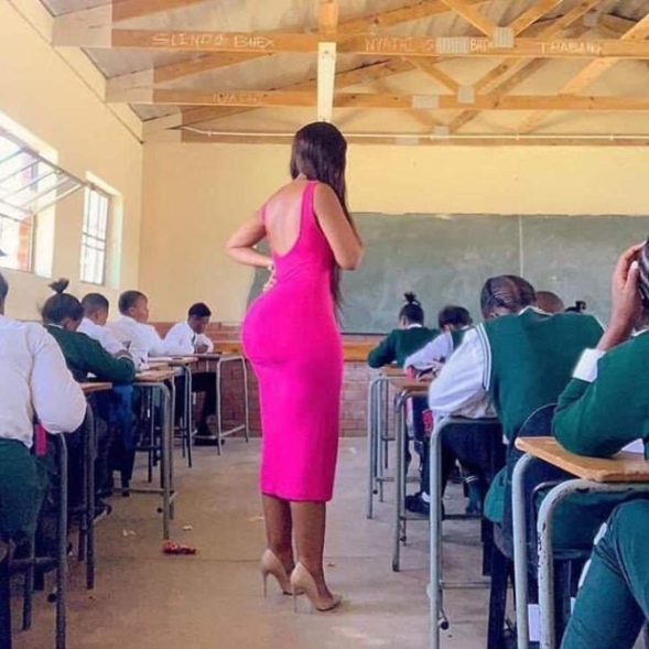 South African teacher