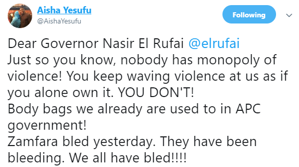 Nigerians Reacts To Governor El-Rufai ''Body Bag'' Warning To US, UK And EU