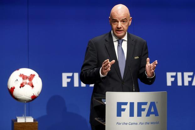 Gianni Infantino to remain FIFA president for four more years after no other candidate received backing for election