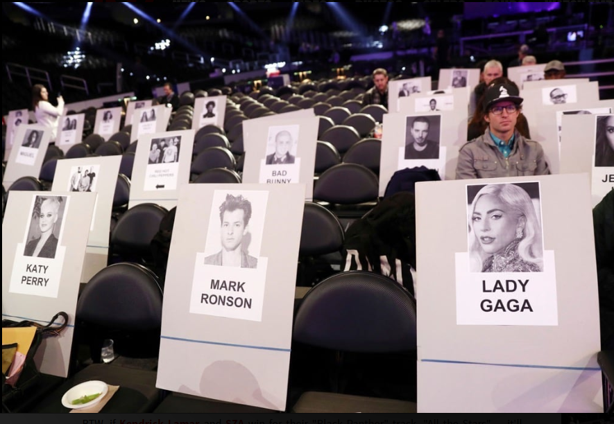 Grammys 2019 Seating Revealed (Photos)