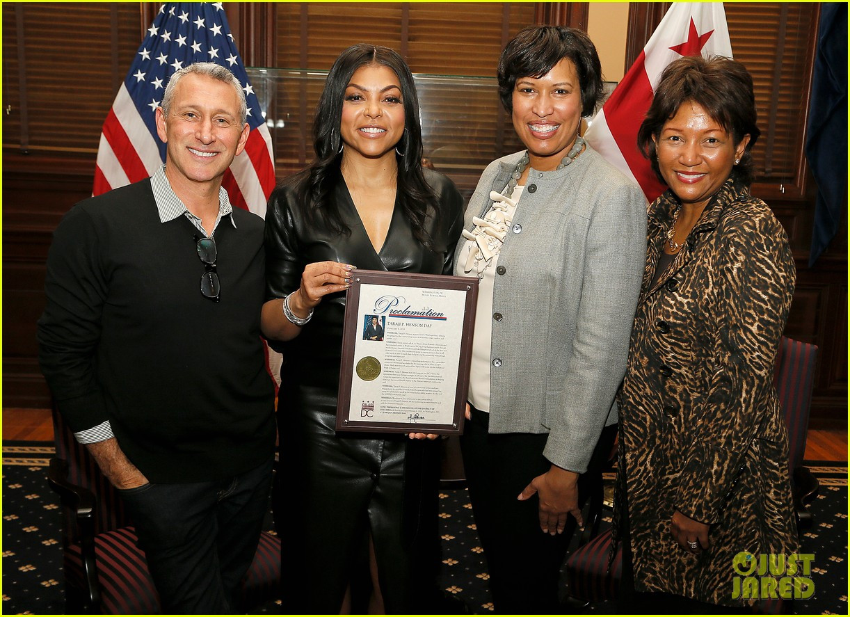"Washington DC Mayor proclaims February 8th as ""Taraji P. Henson Day"" (Photos)"