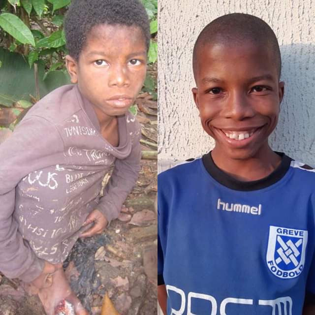 Incredible transformation of two Nigerian children rescued after being branded witches, Incredible transformation of two Nigerian children rescued after being branded witches