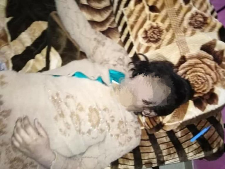 Husband hangs his 8-month pregnant wife because she refused to abort the baby when they discovered it was a girl (graphic photos)