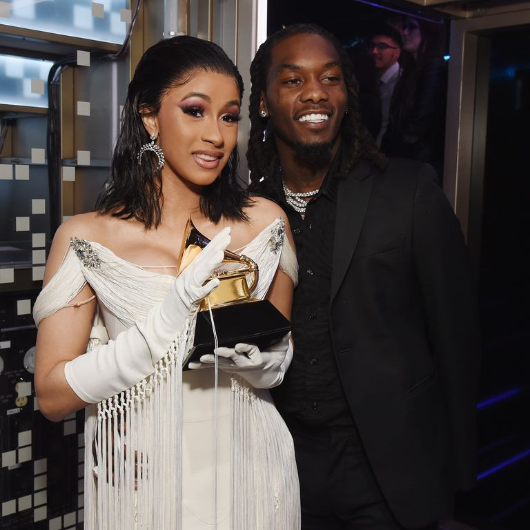 Offset Shares Never-before-seen Video Of Cardi B Giving Birth To Baby Kulture (Watch)