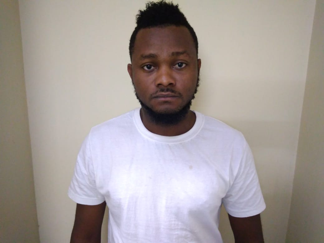 Photos: Nigerian drug trafficker arrested in India