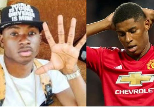 "Someone described Manchester United striker,?Marcus Rashford as ""Brexit Lil Kesh"" and Twitter is going wild"