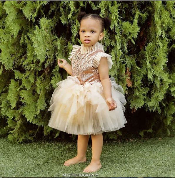 Adaeze Yobo releases adorable new photos with her daughter Lexine as she clocks 2