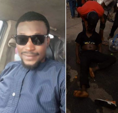 Man counted as dead in Rivers APC campaign rally regains consciousness, Man counted as dead in Rivers APC campaign rally regains consciousness (Photos)