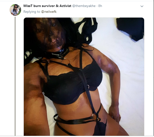 Pretty ladies bombard Twitter with photos of themselves in sexy lingerie to celebrate Valentine