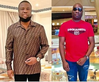 Shots Fired! Hours after Hushpuppi showed off his new Bentley, Mompha shows off his new Bentley Bentayga?says,
