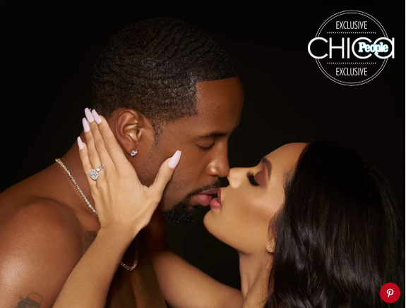 Exclusive engagement photos of Safaree and Erica Mena is released as they grace People Espanol