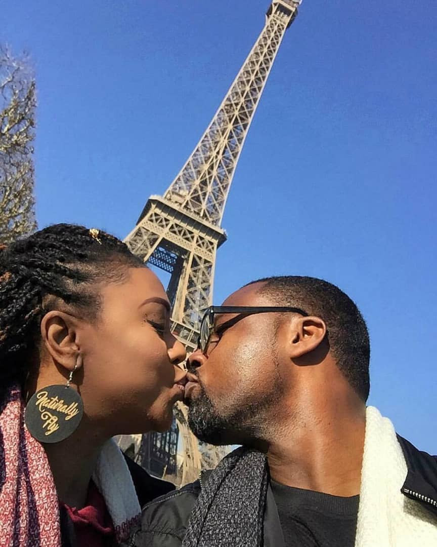Actress Stella Damasus and her husband, Daniel Ademinokan baecation in Paris(photos)