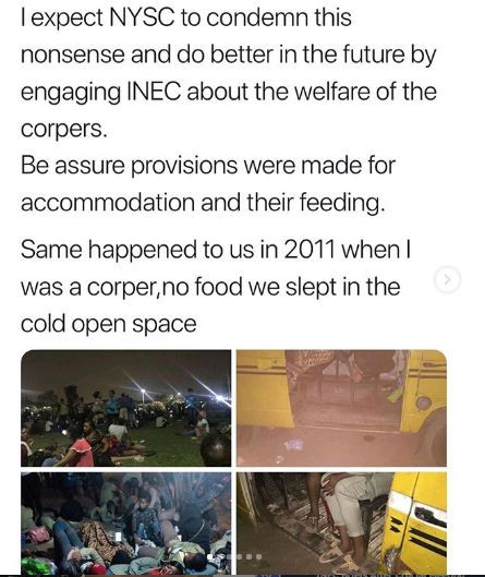 #NigeriaDecides: This is physical and mental abuse in every way - Debola Williams reacts to the poor treatment of corpers across the country