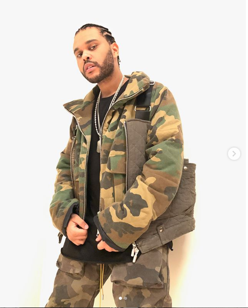 The Weeknd and his stunning girlfriend Bella Hadid rock matching camouflage outfits  in new photos(Photos)