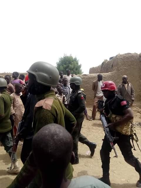 Photos: Armed bandits kill Army Captain, six villagers in Katsina state