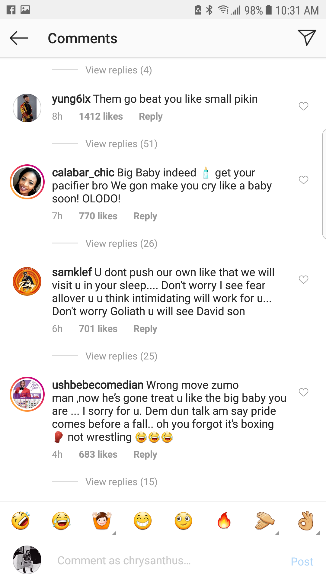 Davido, Don Jazzy, Tunde Ednut & other angry Nigerians storm Jarrel Miller
