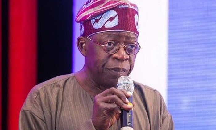 I stand with Buhari on directive against Ballot box snatchers.- Bola Tinubu