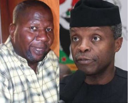 Vice President Osinbanjo donates N1million?to ailing actor, Baba Suwe ?