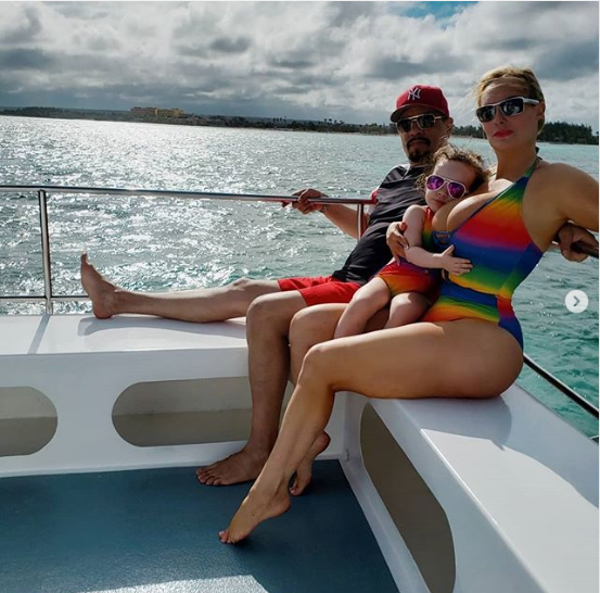 Coco Austin rocks matching swimsuit with her daughter during Yacht trip with her family?in Dominican Republic (Photos)