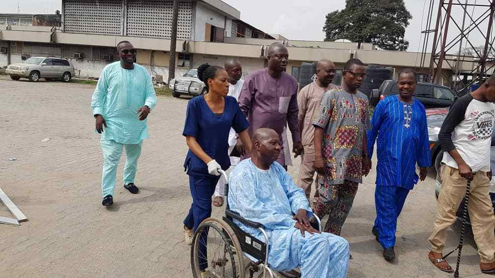 Baba Suwe discharged from LUTH, to fly abroad for further medical care soon