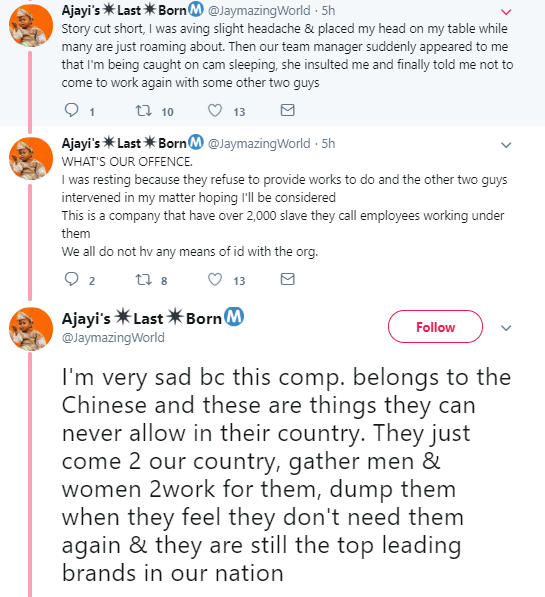 Twitter stories: Nigerian man shares tearjerking story of how he was sacked from work