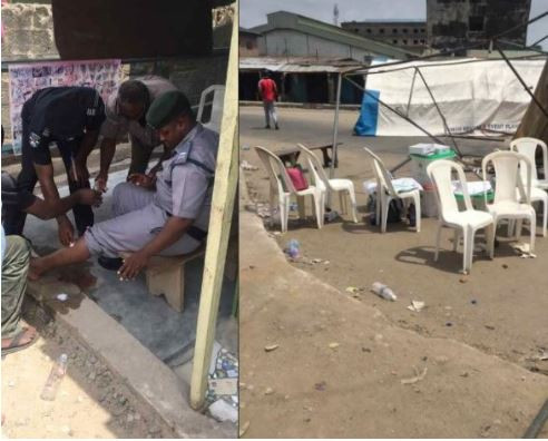 #NigeriaDecides2019: Touts just came to scatter everywhere in my polling unit in Okota, Lagos