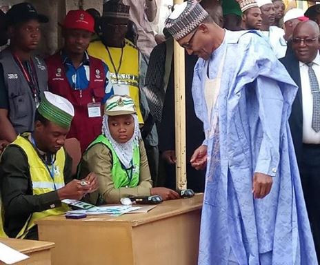 #NigeriaDecides: President Buhari wins his polling unit in Daura
