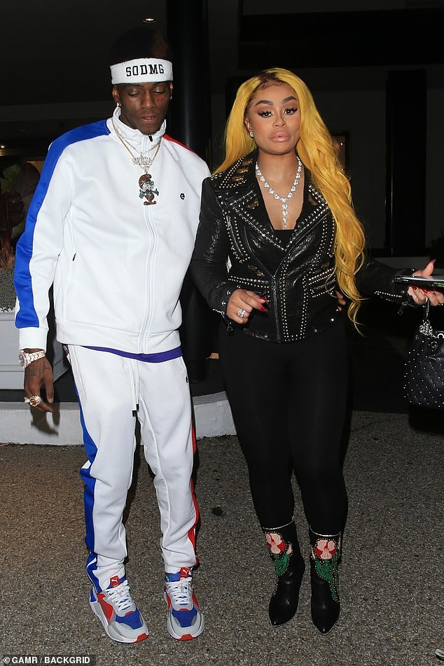 2efba782a4ab6 Blac Chyna slams  immature  Soulja Boy for saying he just wanted to ...