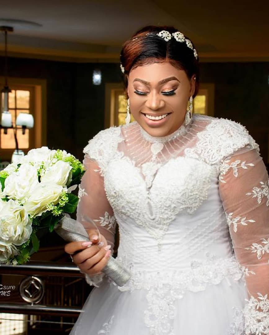 Photos:?Nollywood actress, Maryam Charles?ties the knot with?her husband Mohammed Adebola Sulyman in Kaduna State