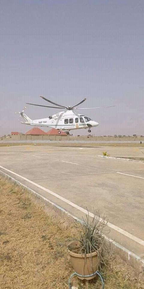 Photos: President Buhari departs Katsina for Abuja