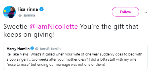 Harry Hamlin slams ex-wife Nicollette Sheridan after she denied cheating with Michael Bolton