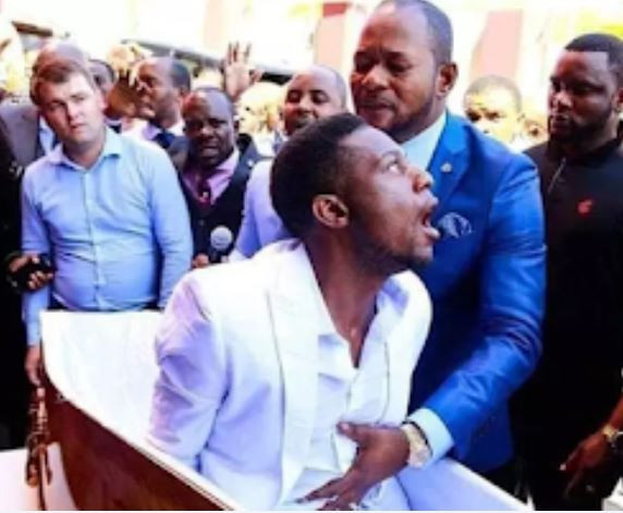 The man who was ?resurrected? by Pastor Alph Lukau in viral video has?been Identified and arrested