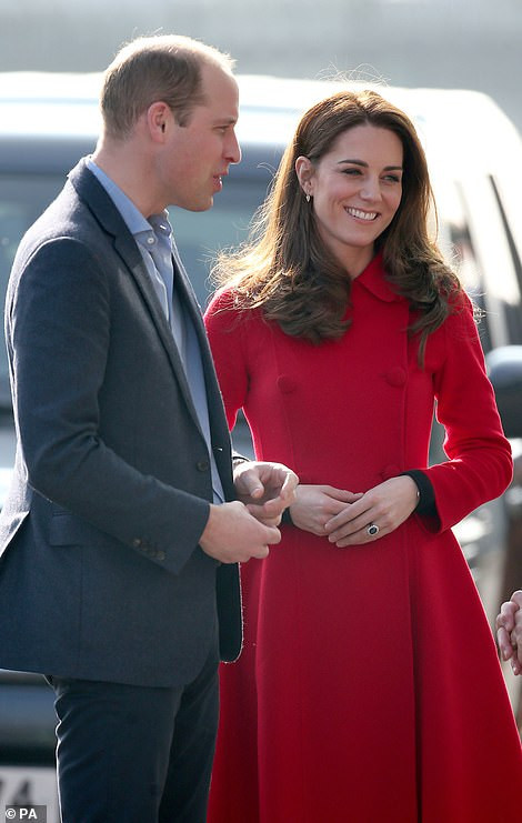 Kate Middleton takes part in football training session in Belfast