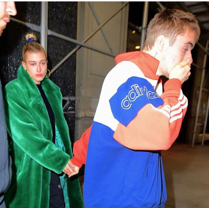 Justin Bieber and Hailey Baldwin spotted looking down cast again in New York