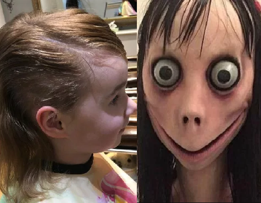 "Girl, 5, cuts off her hair after Momo ""suicide"" game told her to"
