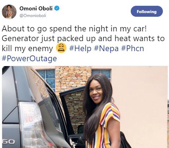 Nollywood actress, Omoni Oboli says she