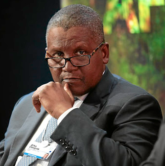Dangote becomes 64th richest man in the world after he gained $5.8 billion in one day