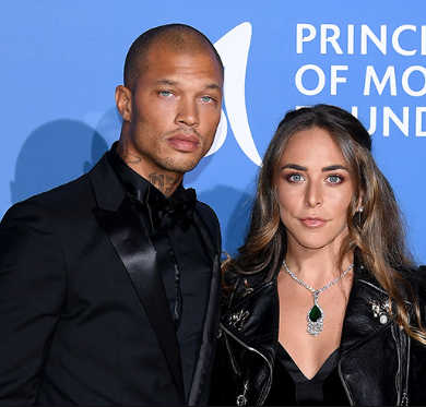 "Jeremy Meeks slams reports of problems in his relationship after Chloe Green was seen without her ring following ""tearful bust up"""