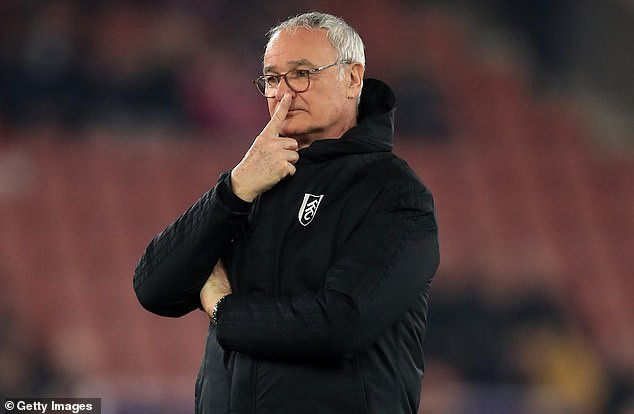 Claudio Ranieri sacked by Premiership club Fulham